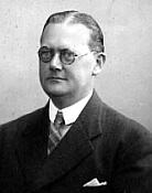 Lystfiskerforeningen for Frederikshavn og Omegns første formand Axel Jønsson.